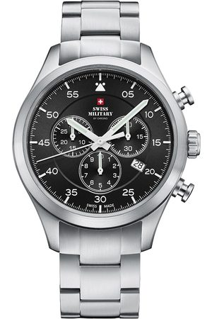 Swiss Military By Chrono Reloj analógico SM34076.01, Quartz, 43mm, 10ATM para hombre
