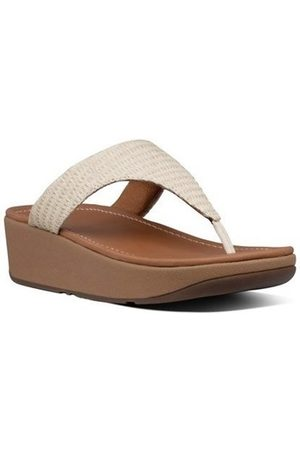 FitFlop Chanclas IMOGEN BASKET WEAVE - STONE para mujer