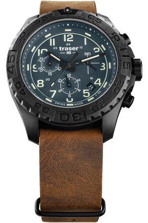 Traser H3 Reloj analógico 109049, Quartz, 44mm, 20ATM para hombre