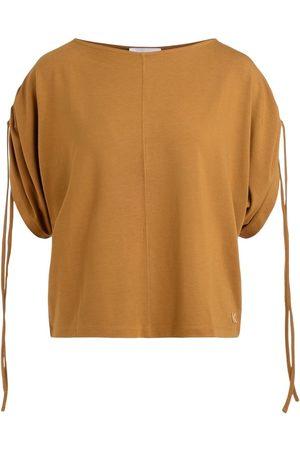 Kenzo Camiseta Camiseta color mostaza para mujer