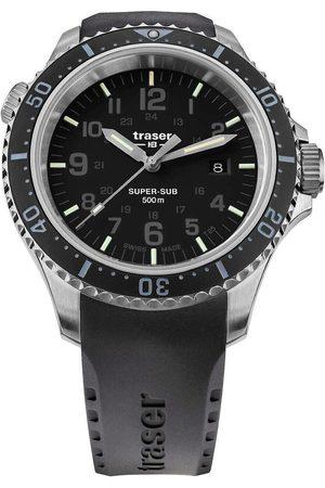 Traser H3 Reloj analógico 109377, Quartz, 46mm, 50ATM para hombre