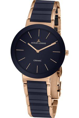 Jacques Lemans Reloj analógico 42-8J, Quartz, 40mm, 10ATM para hombre