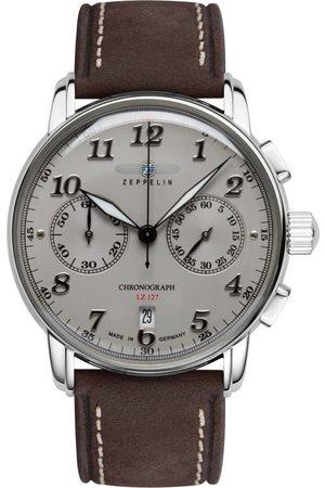 Zeppelin Reloj analógico 8678-4, Quartz, 43mm, 5ATM para hombre