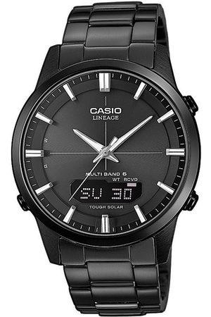 Casio Reloj analógico LCW-M170DB-1AER, Quartz, 43mm, 10ATM para hombre