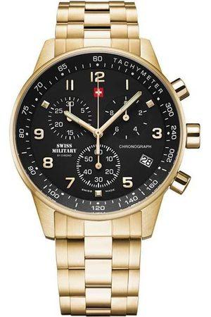 CHRONO Reloj analógico SM34012.12, Quartz, 41mm, 5ATM para hombre