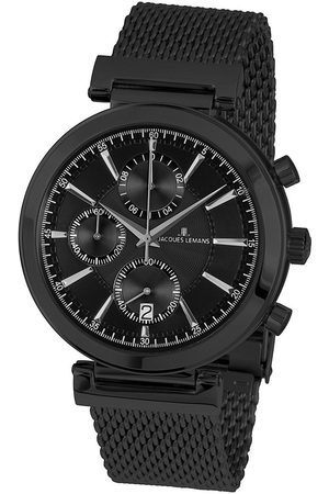 Jacques Lemans Reloj analógico 1-1699E, Quartz, 45mm, 5ATM para hombre