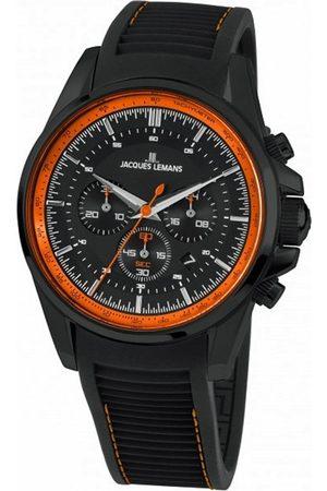 Jacques Lemans Reloj analógico 1-1799U, Quartz, 44mm, 10ATM para hombre