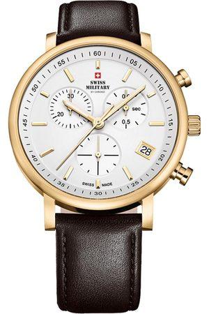 CHRONO Reloj analógico SM34058.07, Quartz, 42mm, 10ATM para hombre