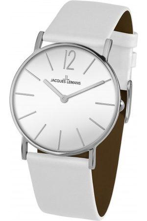 Jacques Lemans Reloj analógico 1-2030B, Quartz, 40mm, 5ATM para hombre