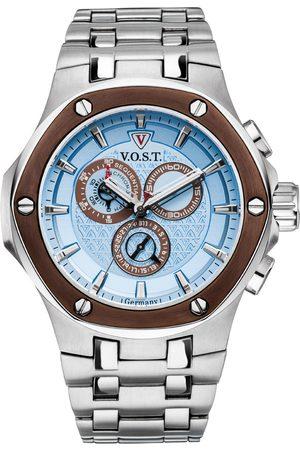 V.o.s.t Germany Reloj analógico V100.021.C2.SI.M.I, Quartz, 44mm, 20ATM para hombre