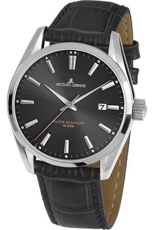 Jacques Lemans Reloj analógico 1-1859A, Quartz, 40mm, 10ATM para hombre