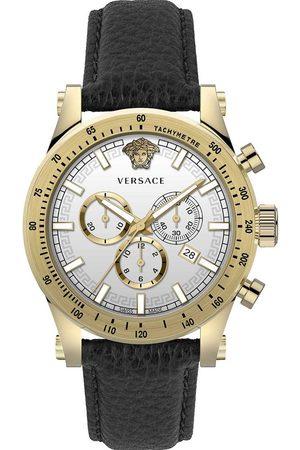 VERSACE Reloj analógico VEV800319, Quartz, 44mm, 5ATM para hombre