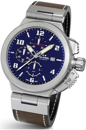 Tw-Steel Reloj analógico ACE203, Automatic, 46mm, 10ATM para hombre