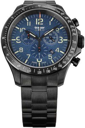Traser H3 Reloj analógico 109462, Quartz, 46mm, 10ATM para hombre