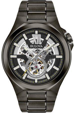 BULOVA Reloj analógico 98A179, Automatic, 46mm, 10ATM para hombre