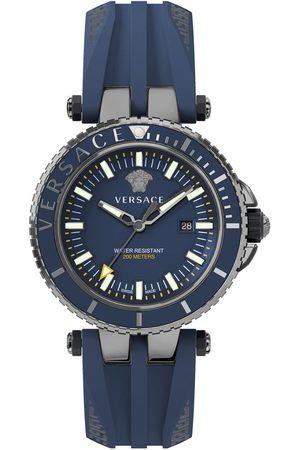 VERSACE Reloj analógico VEAK00218, Quartz, 45mm, 20ATM para hombre
