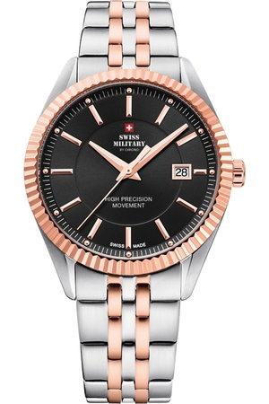 CHRONO Reloj analógico SM34065.06, Quartz, 40mm, 5ATM para hombre