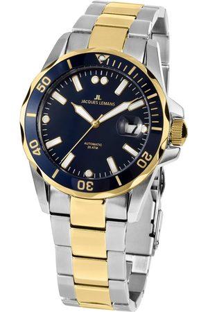 Jacques Lemans Reloj analógico 1-2014F, Automatic, 42mm, 20ATM para hombre