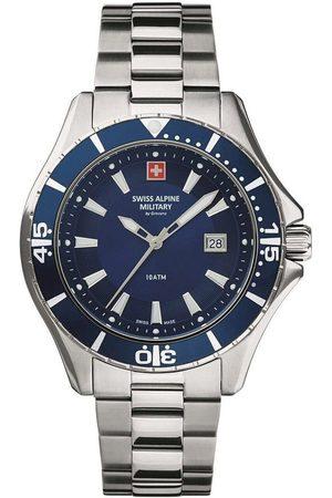 Swiss Alpine Military Reloj analógico 7040.1135, Quartz, 46mm, 10ATM para hombre