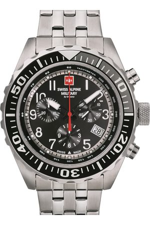Swiss Alpine Military Reloj analógico 7076.9137, Quartz, 44mm, 10ATM para hombre
