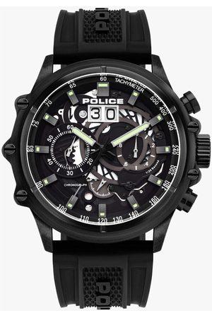Police Reloj analógico PL16018JSB.02P, Quartz, 48mm, 10ATM para hombre
