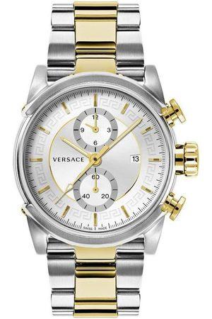 VERSACE Reloj analógico VEV400419, Quartz, 44mm, 5ATM para hombre
