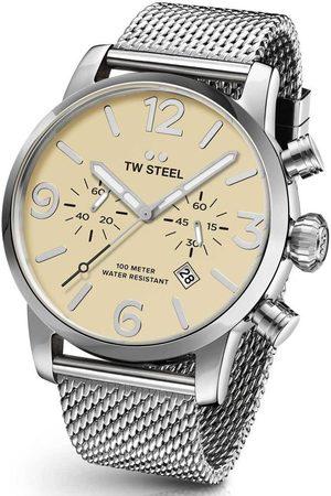 Tw-Steel Reloj analógico MB4, Quartz, 48mm, 10ATM para hombre