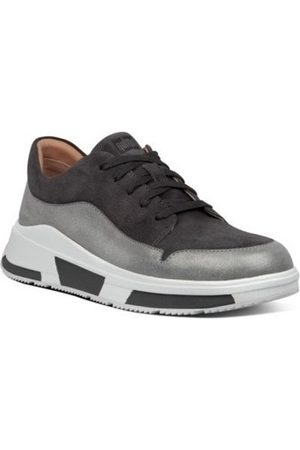 FitFlop Zapatillas FREYA SUEDE SNEAKERS - GREY CO AW01 para mujer