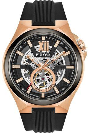 BULOVA Reloj analógico 98A177, Automatic, 46mm, 10ATM para hombre
