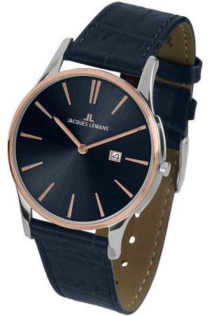 Jacques Lemans Reloj analógico 1-1936G, Quartz, 40mm, 10ATM para hombre