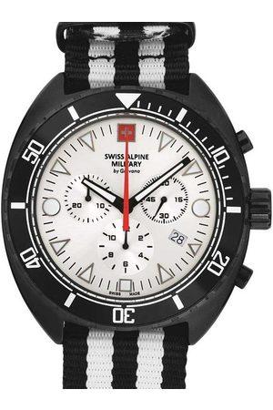 Swiss Alpine Military Reloj analógico 7066.9672, Quartz, 44mm, 10ATM para hombre