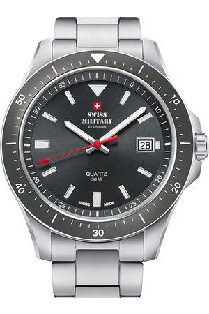 CHRONO Reloj analógico SM34082.03, Quartz, 42mm, 5ATM para hombre