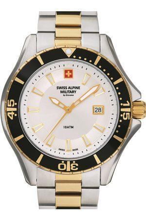 Swiss Alpine Military Reloj analógico 7040.1142, Quartz, 45mm, 10ATM para hombre