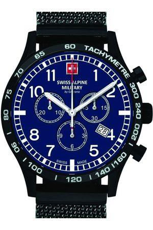 Swiss Alpine Military Reloj analógico 1746.9175, Quartz, 43mm, 10ATM para hombre