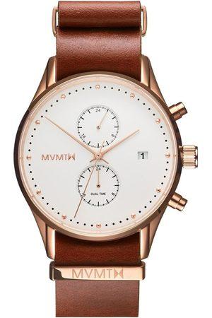 MVMT Reloj analógico MV01-RGNA2, Quartz, 42mm, 10ATM para hombre