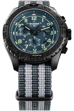 Traser H3 Reloj analógico 109050, Quartz, 44mm, 20ATM para hombre