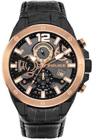 Police Reloj analógico PL15711JSBR.61, Quartz, 47mm, 3ATM para hombre