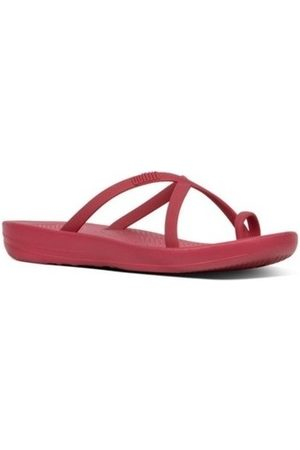FitFlop Chanclas iQUSION WAVE - SLIDES - IRON RED es para mujer