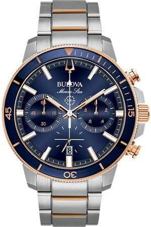 BULOVA Reloj analógico 98B301, Quartz, 45mm, 20ATM para hombre