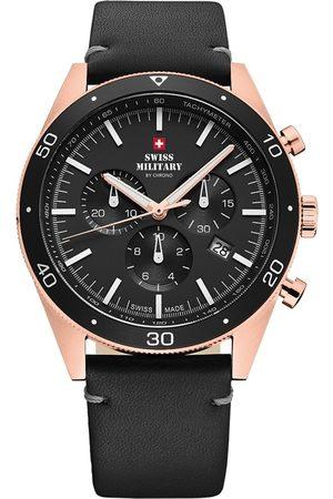 CHRONO Reloj analógico SM34079.07, Quartz, 43mm, 10ATM para hombre