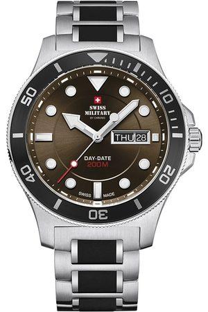 CHRONO Reloj analógico SM34068.03, Quartz, 42mm, 20ATM para hombre