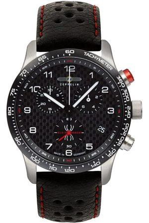 Zeppelin Reloj analógico 7294-4LB, Quartz, 42mm, 10ATM para hombre
