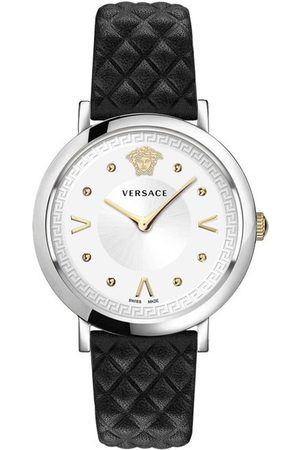VERSACE Reloj analógico VEVD00119, Quartz, 36mm, 5ATM para mujer