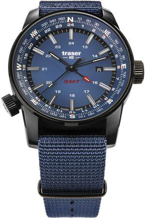 Traser H3 Reloj analógico 109034, Quartz, 46mm, 10ATM para hombre