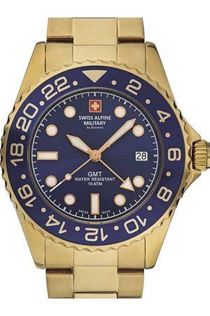 Swiss Alpine Military Reloj analógico 7052.1115, Quartz, 42mm, 10ATM para hombre