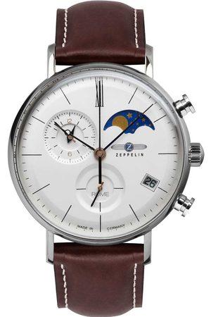 Zeppelin Reloj analógico 7198-4, Quartz, 41mm, 5ATM para hombre