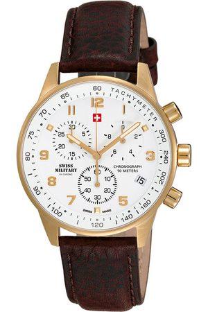 CHRONO Reloj analógico SM34012.07, Quartz, 41mm, 5ATM para hombre