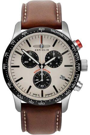 Zeppelin Reloj analógico 7296-1, Quartz, 42mm, 10ATM para hombre