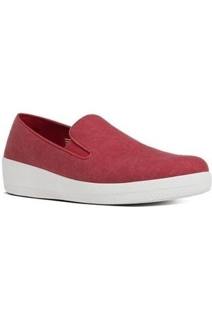 FitFlop Zapatos SUPERSKATE TM CANVAS - CLASSIC RED para mujer