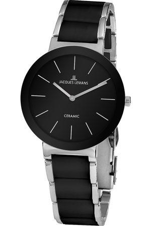 Jacques Lemans Reloj analógico 42-8A, Quartz, 40mm, 10ATM para hombre